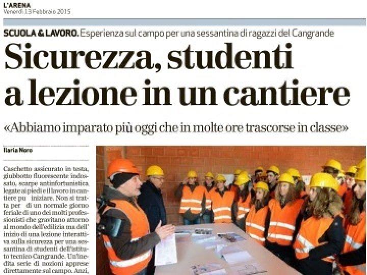 QUOTIDIANO L'ARENA A CAMPOFIORE